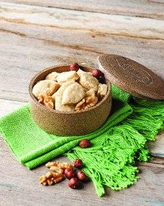 biscoito de quinua e frutas secas